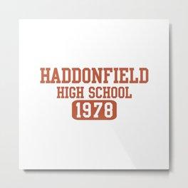 HADDONFIELD HIGH SCHOOL 1978 Metal Print