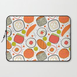 Japanese sushi lovely pattern Laptop Sleeve