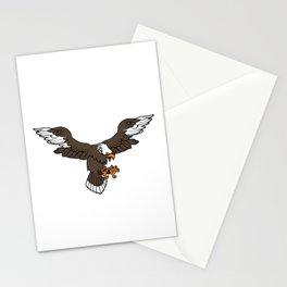 American By Birth, Relentlessly Patriotic By Choice Stationery Cards