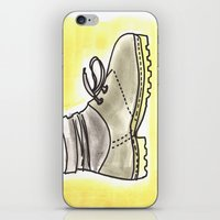 shoe iPhone & iPod Skins featuring shoe by yayanastasia
