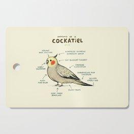 Anatomy of a Cockatiel Cutting Board