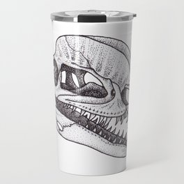 Dilophosaurus skull Travel Mug