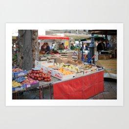 Market 7 Art Print