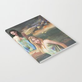 """Sirens (""""Charm of of the Ancient Enchantress"""" Series) Notebook"""