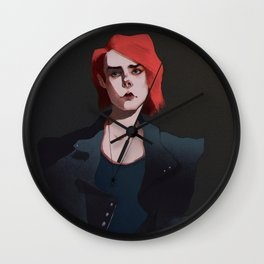 Hesitate  Wall Clock