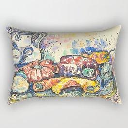 """Paul Signac """"Still Life with Jug"""" Rectangular Pillow"""
