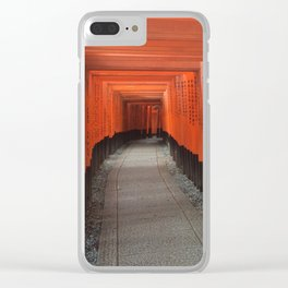 Shrine Clear iPhone Case