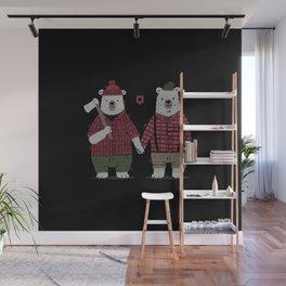My Bear Valentine Wall Mural