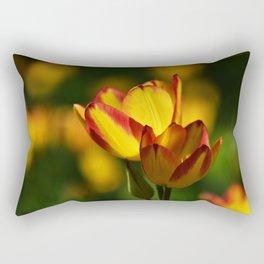 Spring Tulips Rectangular Pillow