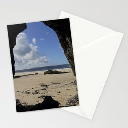 Cave at Gwithian Stationery Cards