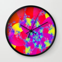 Summer Beauty Wall Clock