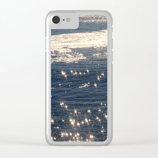 sparkling ocean Clear iPhone Case