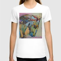 study T-shirts featuring Horse Study by Michael Creese