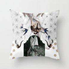 Free_Man Throw Pillow