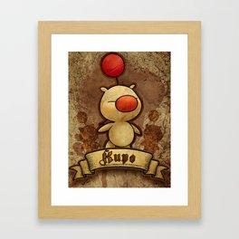 Kupo - Moogle Framed Art Print