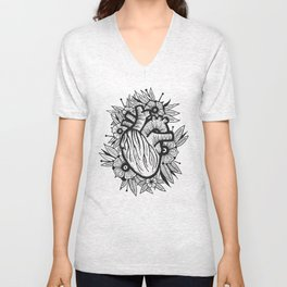 Heart Illustration 2 Unisex V-Neck