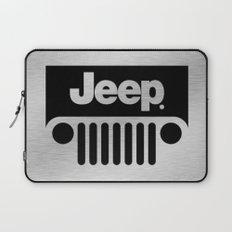 Jeep Steel Chrome Laptop Sleeve