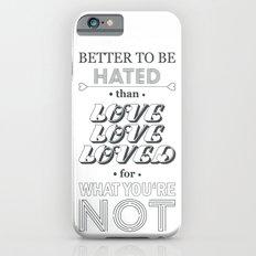 I Am Not A Robot ; Marina and the Diamonds (alternative II) iPhone 6s Slim Case