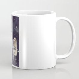 Sitting In Silence Coffee Mug
