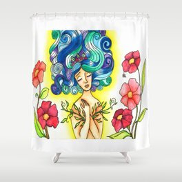 Leaf Lover Shower Curtain