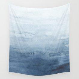 Indigo Abstract Painting | No. 4 Wall Tapestry