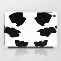 rorschach iPad Cases featuring Rorschach by Okes