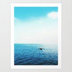 Another through the seasky Art Print