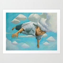 Mind Flight Art Print