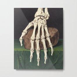 Skelet van een hand (No border) Metal Print
