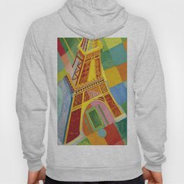 "Robert Delaunay ""The Eiffel Tower"" Hoody"