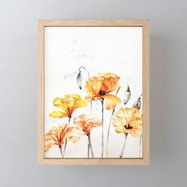 Springful thoughts Framed Mini Art Print