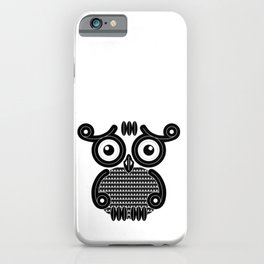Owl VWB iPhone Case