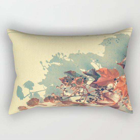 Grapes of Autumn Rectangular Pillow