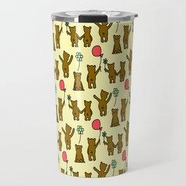 Happy Teddies  Travel Mug