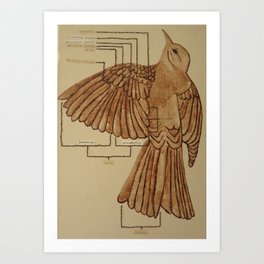 Wing Bird 1 Art Print