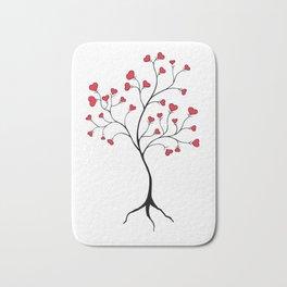 Love tree Bath Mat