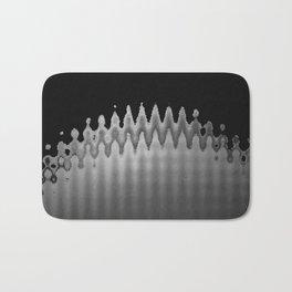 A Waves Bath Mat