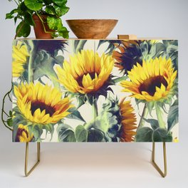 Sunflowers Forever Credenza