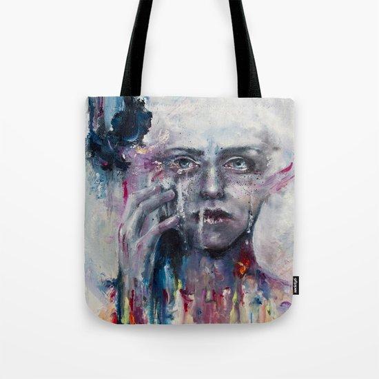 a hint of color Tote Bag