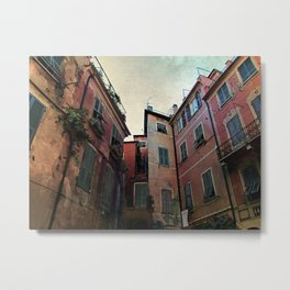 windows of Cinque Terre Metal Print