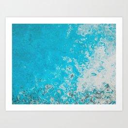 """sea"" Art Print"