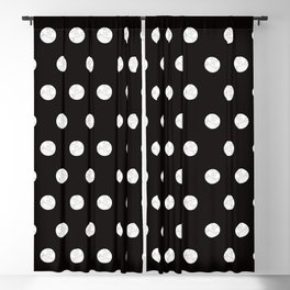 Polka like you mean it Blackout Curtain