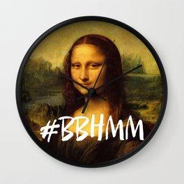 #BBHMM Wall Clock