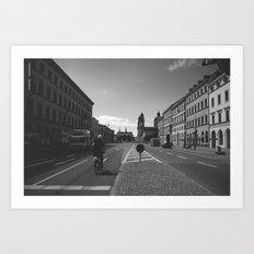 München / Bavaria / B&W Art Print