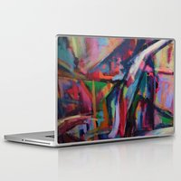downton abbey Laptop & iPad Skins featuring Abbey by Charlotte Chisnall