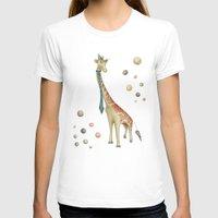 giraffe T-shirts featuring Giraffe by Catru