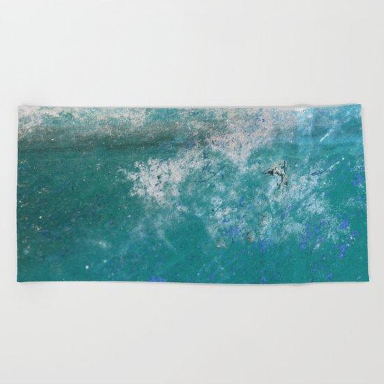 Into the Ocean - JUSTART © Beach Towel
