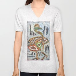 Important Bird Unisex V-Neck
