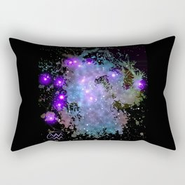 The Zodiac Sign -- Aquarius Rectangular Pillow