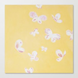 Summer Butterflies Canvas Print
